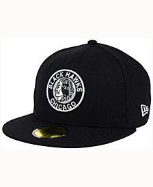 New Era Chicago Blackhawks Black Dub 59FIFTY Cap