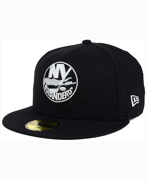 6bd8097d034 New Era New York Islanders Black Dub 59FIFTY Cap - Sports Fan Shop ...
