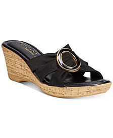 Easy Street Tuscany Conca Wedge Sandals
