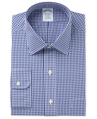 Brooks brothers men 39 s regent classic regular fit non iron for Brooks brothers non iron shirt review