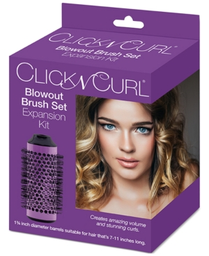 "Click N Curl 1.75"" Blowout Brush Set Expansion Kit Bedding"
