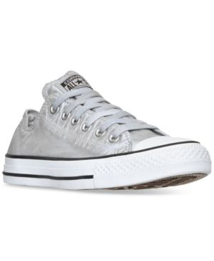 Converse Chuck Taylor Ox sneaker in Dolphin/ White