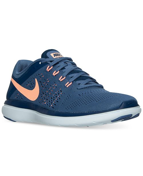 1456100573cfd ... Nike Women s Flex 2016 RN Running Sneakers from Finish Line ...