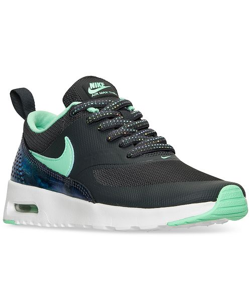 best website ef88b fa19c ... Nike Big Girls  Air Max Thea SE Running Sneakers from Finish Line ...