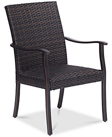 CLOSEOUT! Savannah Outdoor Dining Chair, Created for Macy's