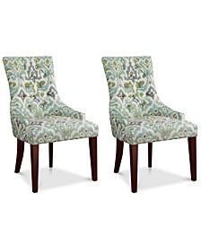 Michelle Set of 2 Dining Chairs, Quick Ship