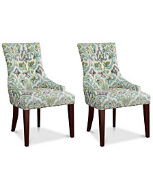 Maycock Set of 2 Dining Chairs, Quick Ship
