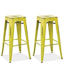"Galan 30"" Bar Stool (Set Of 2), Quick Ship"