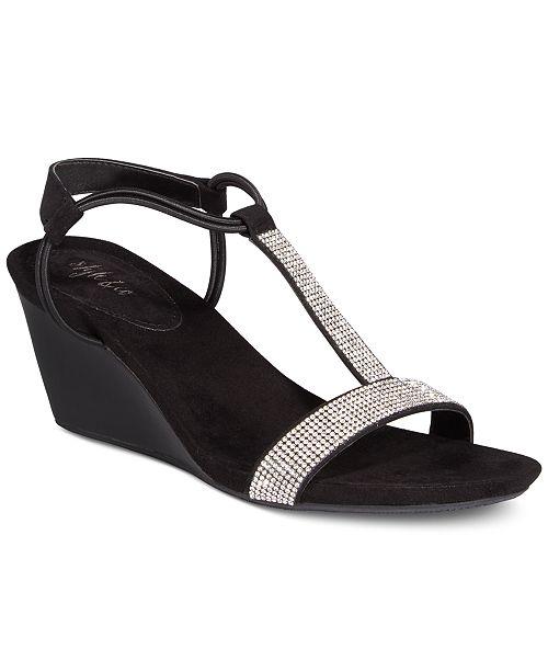 0dcd02335c24c ... Style   Co Mulan 2 Embellished Evening Wedge Sandals