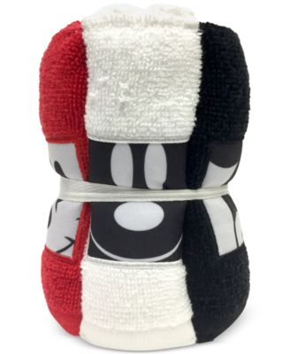 Big Face Mickey Mouse 6-Pc. Washcloth Set