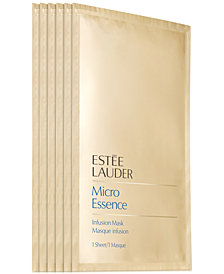 Estée Lauder Micro Essence Infusion Mask - 6 Count, Created for Macy's!