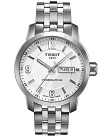 Tissot Men's Swiss Automatic T-Sport PRC 200 Stainless Steel Bracelet Watch 39mm T0554301101700