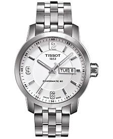 Tissot Men's Swiss Automatic T-Sport PRC 200 Stainless Steel Bracelet Watch 39mm T0554301101700