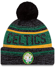 New Era Boston Celtics Hardwood Classics Snow Dayz Knit Hat