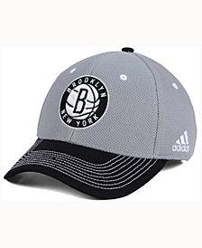 adidas Brooklyn Nets Duel Logo Flex Cap