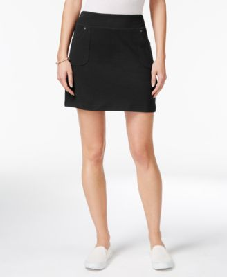 Image of Style & Co Pull-On Skort, Only at Macy's