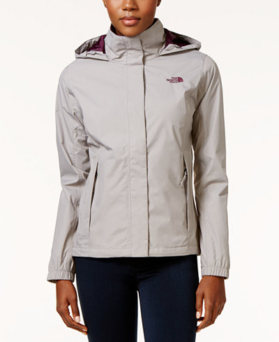 The North Face Resolve 2 Waterproof Packable Rain Jacket