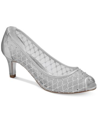 Silver Bridal Shoes and Evening Shoes - Macy's