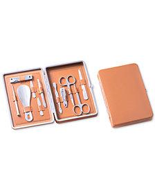 Bey-Berk 10-Pc. Stainless Steel Manicure Set
