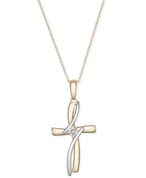 Diamond Accent Cross...