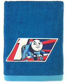 Jay Franco Thomas the Tank Engine Embroidered  Bath Towel