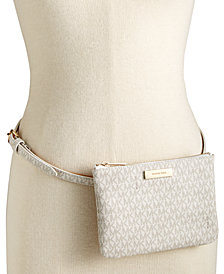 MICHAEL Michael Kors Signature Fanny Pack, Created for Macy's