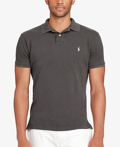 Polo Ralph Lauren Men's Slim-Fit Cotton Mesh Polo