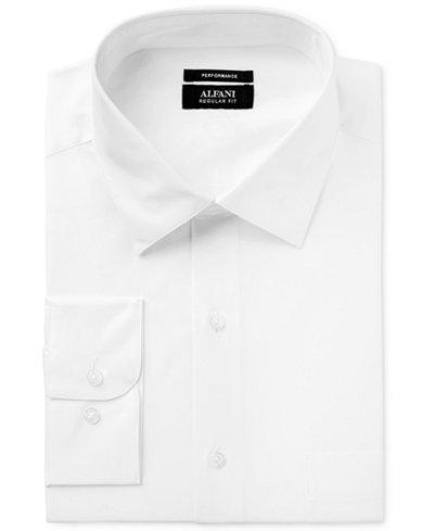 Alfani Black Men's Classic Fit Performance Dress Shirt, Created for Macy's