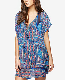 A Pea In The Pod Maternity Printed Swim Cover-Up