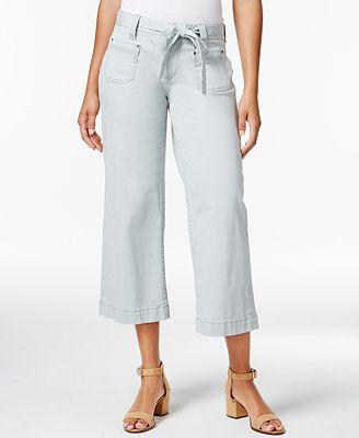 JAG Wallace Wide-Leg Capri Pants