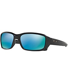 Polarized Straightlink Prizm Deep Water Polarized Sunglasses , OO9331 61