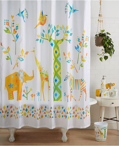 Creative Bath Origami Jungle Bath Collection