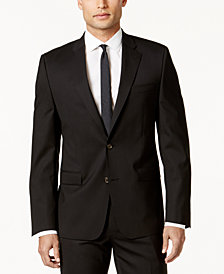 Lauren Ralph Lauren Men's Slim-Fit Black Total Stretch Jacket