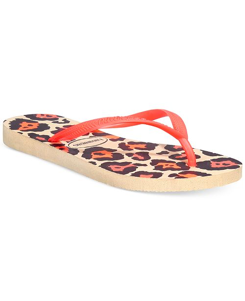 dd67690c038d Havaianas Women s Slim Animal Flip Flops  Havaianas Women s Slim Animal Flip  ...