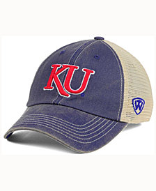 779df58d38d Top of the World Kansas Jayhawks Wicker Mesh Cap