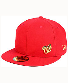 New Era Washington Nationals Flawless OGold 59FIFTY Cap