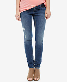Motherhood Maternity Medium-Wash Jeggings