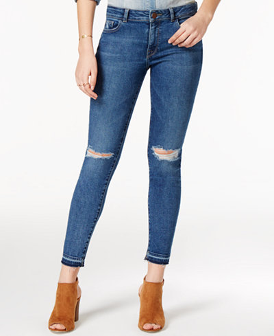 DL 1961 Margaux Ripped Skinny Jeans