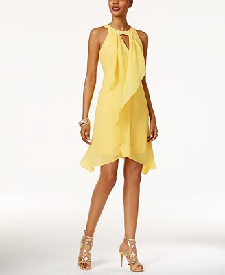 Thalia Sodi Draped Halter Dress, Only at Macy's