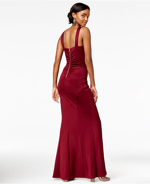 2f5393f65f7 Emerald Sundae Juniors  Crisscross Scuba Gown   Reviews - Dresses ...