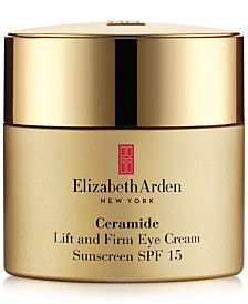 Elizabeth Arden Ceramide Lift and Firm Eye Cream Sunscreen SPF 15, 0.5 oz.