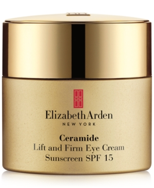 Elizabeth Arden CERAMIDE LIFT AND FIRM EYE CREAM SUNSCREEN SPF 15, 0.5 OZ.