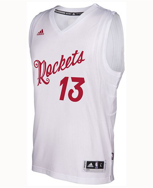 34ddcc9286a6 adidas Men s James Harden Houston Rockets Christmas Day Swingman Jersey ...