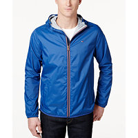 Tommy Hilfiger Men's Zip-Front Hooded Windbreaker (Multiple Colors)