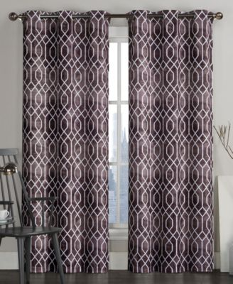 "Andreaston Pair of 40"" x 84"" Grommet Window Panels"
