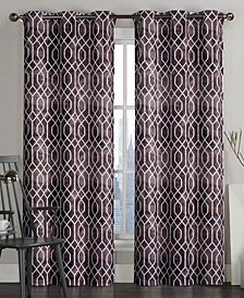 "Victoria Classics Andreaston Pair of 38"" x 96"" Grommet Window Panels"