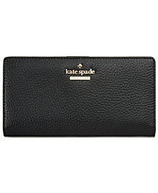 kate spade new york Jackson Street Stacy Pebble Leather Wallet