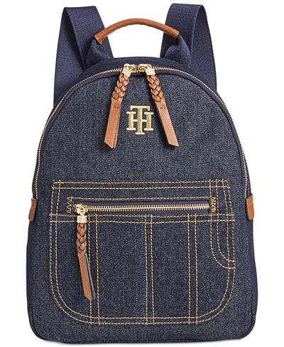 Tommy Hilfiger Esme Small Denim Backpack