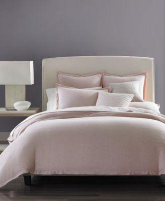 Rosequartz Linen Full/Queen Duvet Cover, Created for Macy's