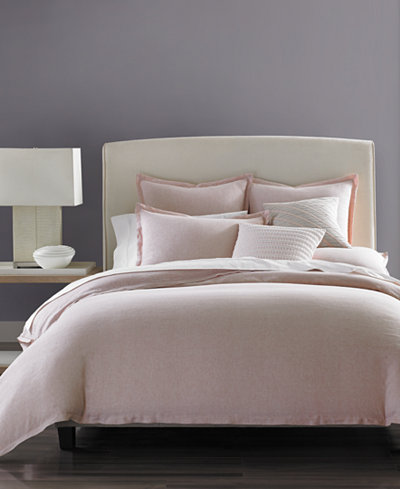 Hotel Collection Rosequartz Linen Duvet Covers Created For Macy S